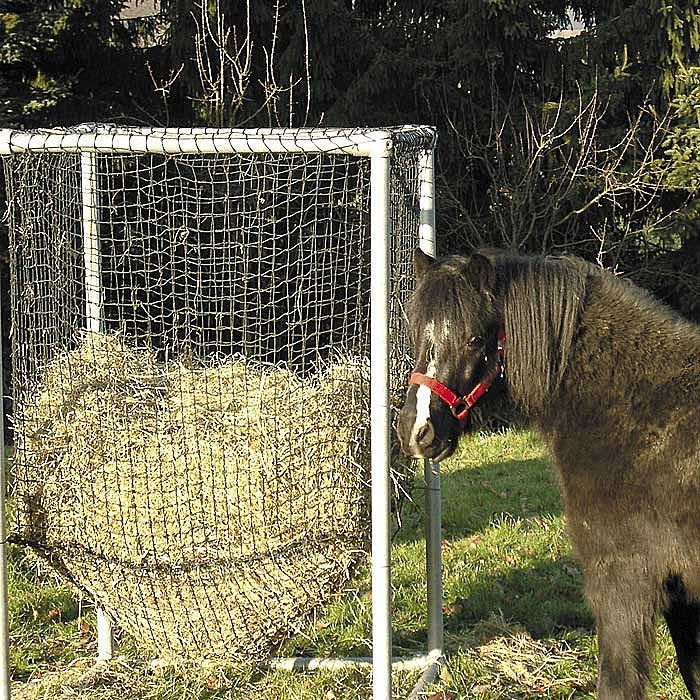 Hofmeister heuraufe duro raufe komplett g nstig kaufen im for Boden heuraufe pferd