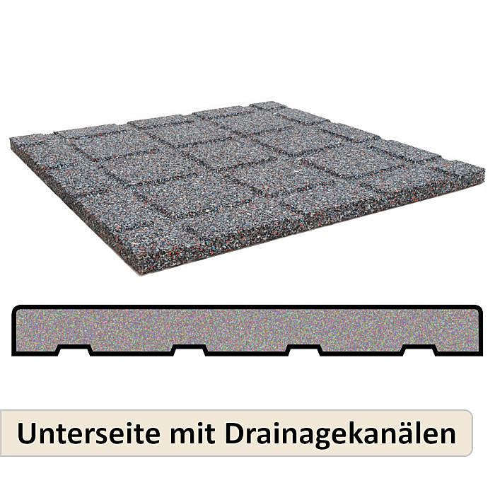 Stärke Hammerschlagmatte Gummi Pferdeanhänger Bodenbelag 1,65m x 1,82m 8mm