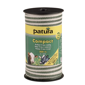 Patura Breitband Compact 10 mm, 200 Meter