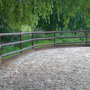 Holzzaun Fur Pferde Bauen Pferdezaun Koppelzaun