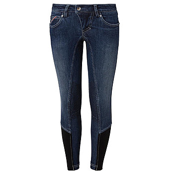Mountain Horse Kinder Grip Reithose Jamie Denim Gr. 140