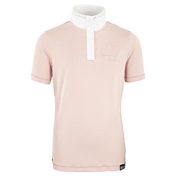 BR Kinder Turniershirt April Silver Pink