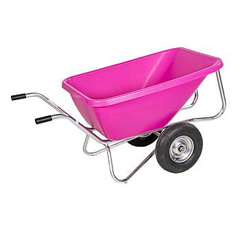 hofmeister schubkarre big ben 2 rad pink 260 liter g nstig. Black Bedroom Furniture Sets. Home Design Ideas